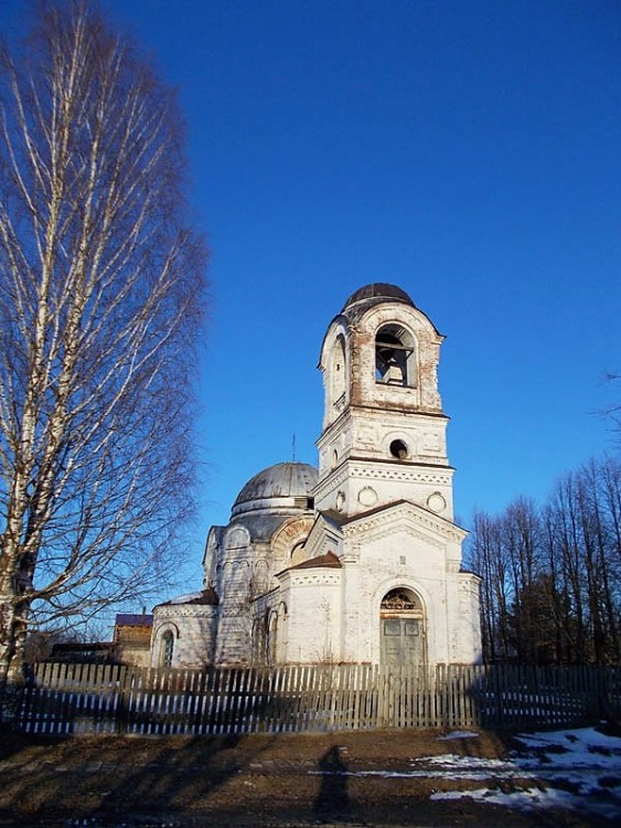 Церковь Спаса нерукотворного Образа, Кологрив