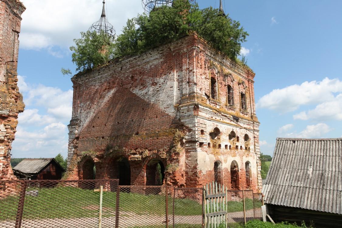 Церковь Димитрия Солунского, Стогинское