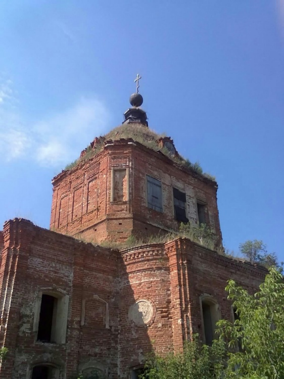 Церковь Спаса Нерукотворного Образа, Ушаково