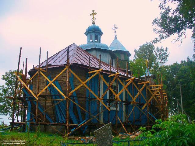 Церковь Воздвижения Креста Господня, Гощево
