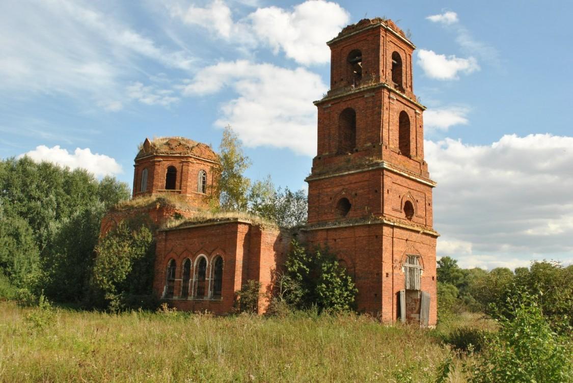 Церковь Покрова Пресвятой Богородицы-Глинки-Михайловский район-Рязанская область