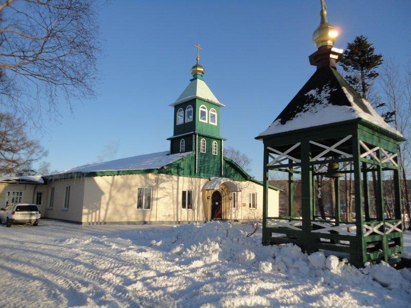 Покровский мужской монастырь, Корсаков