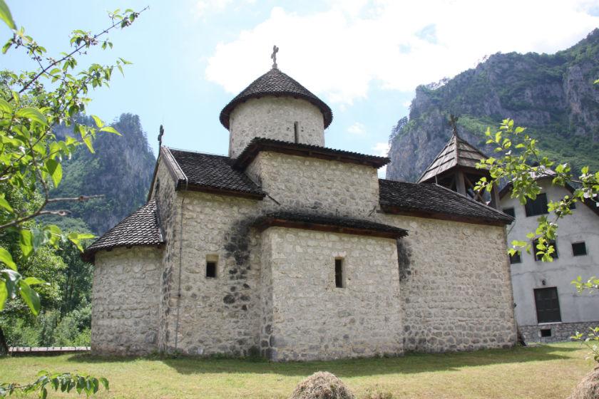 Монастырь Георгия Победоносца, Мойковац