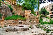 Иудейская пустыня, Вади Кельт (Нахаль Прат). Неизвестная церковь