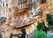 Иудейская пустыня, Вади Кельт (Нахаль Прат). Харитона Исповедника (?), церковь