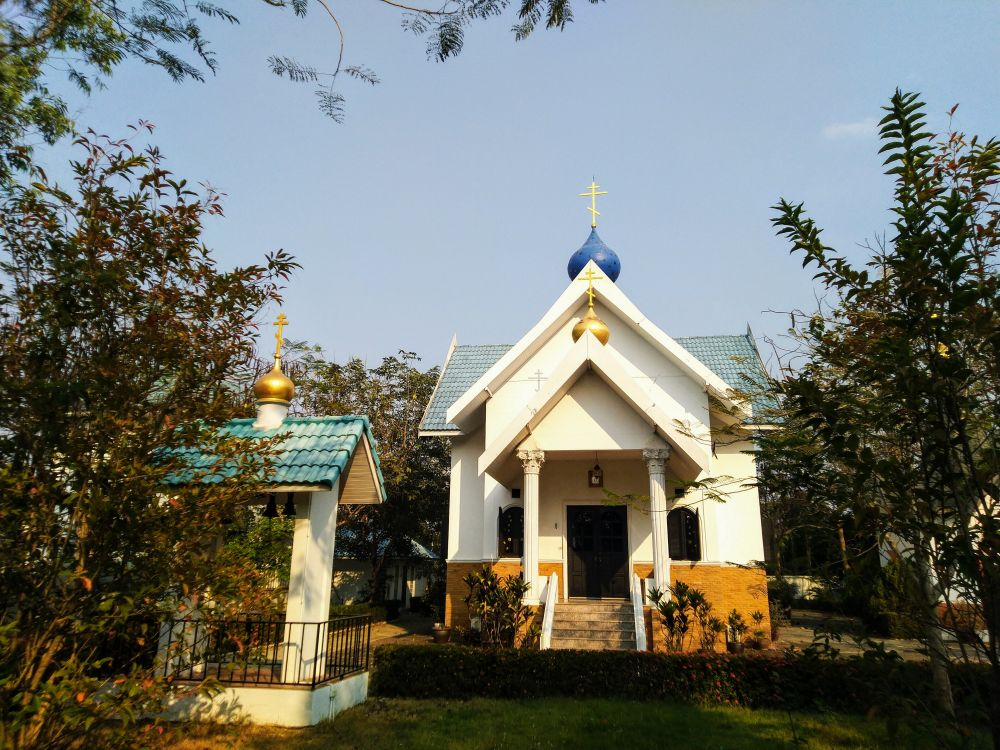 Прочие страны, Таиланд, Ратчабури. Свято-Успенский мужской монастырь, фотография. фасады