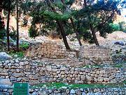 Иудейская пустыня, Вади Кельт (Нахаль Прат). Кириака Отшельника, церковь