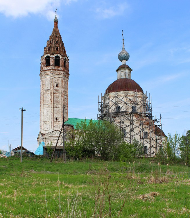 Ивановская область, Гаврилово-Посадский район, Ярышево. Церковь Георгия Победоносца, фотография.