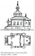 Церковь Петра и Павла - Тихонова Падь - Иркутский район - Иркутская область