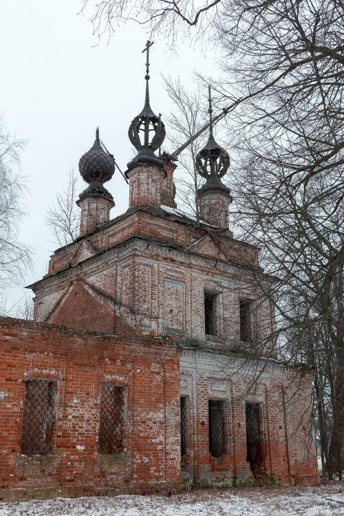 Церковь Казанской иконы Божией Матери, Берлюково