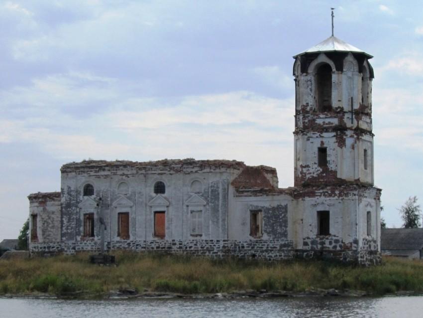 Церковь Николая Чудотворца, Сенная Губа