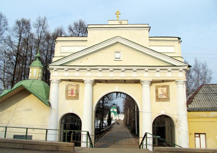 Тихвинский Богородице-Успенский мужской монастырь. Часовня иконы Божией Матери