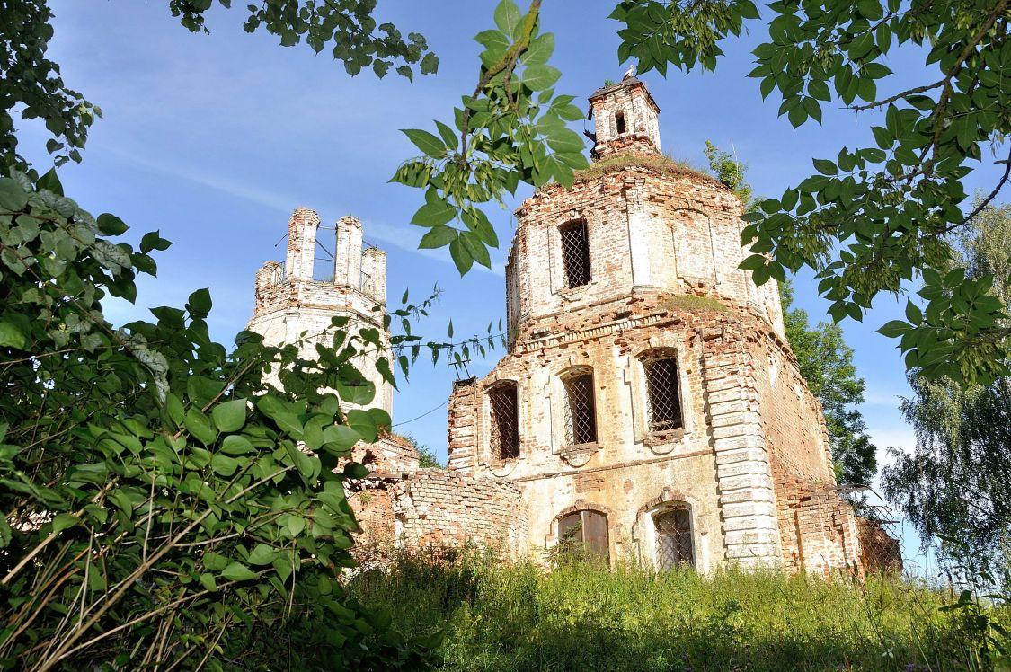 Тверская область, Калининский район, Сергиевское. Церковь Сергия Радонежского, фотография.
