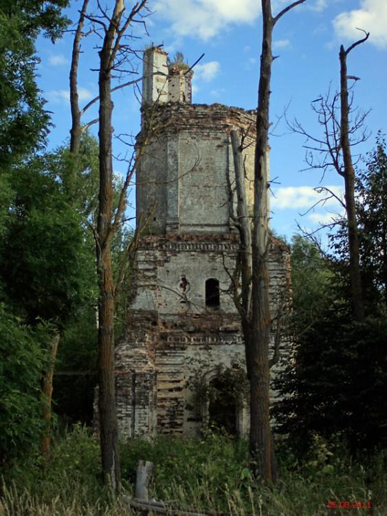 Тверская область, Калининский район, Сергиевское. Церковь Сергия Радонежского, фотография. фасады