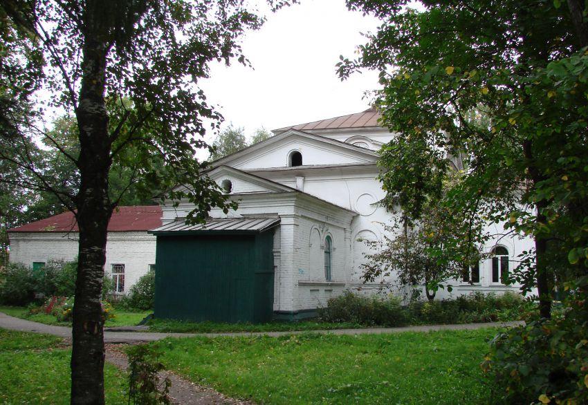Вологодская область, Сокольский район, Кадников. Церковь Богоявления Господня, фотография. фасады
