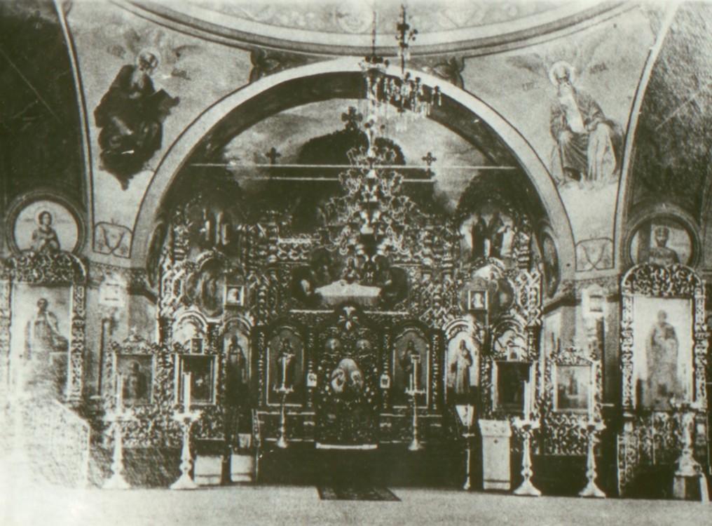 Церковь Александра Невского, Уни