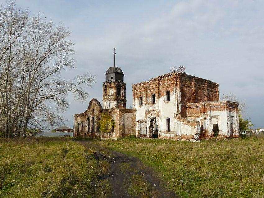 Церковь Илии Пророка-Сугояк-Красноармейский район-Челябинская область