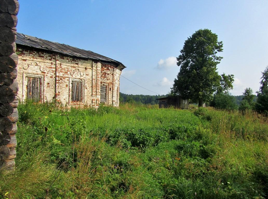 Вологодская область, Тотемский район, Коченга (Коченьга). Церковь Спаса Преображения, фотография. фасады, южный фасад