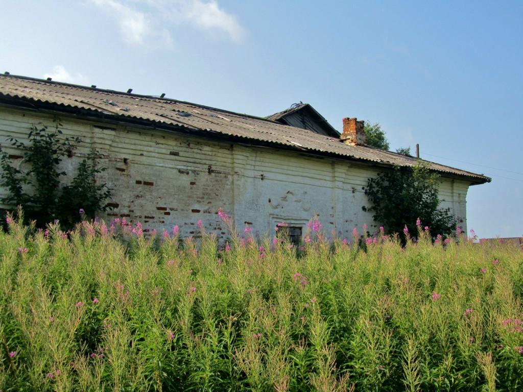 Вологодская область, Тотемский район, Коченга (Коченьга). Церковь Спаса Преображения, фотография. фасады, северный фасад