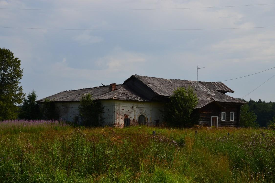 Вологодская область, Тотемский район, Коченга (Коченьга). Церковь Спаса Преображения, фотография. фасады