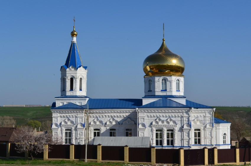 Церковь Георгия Победоносца, Лихой