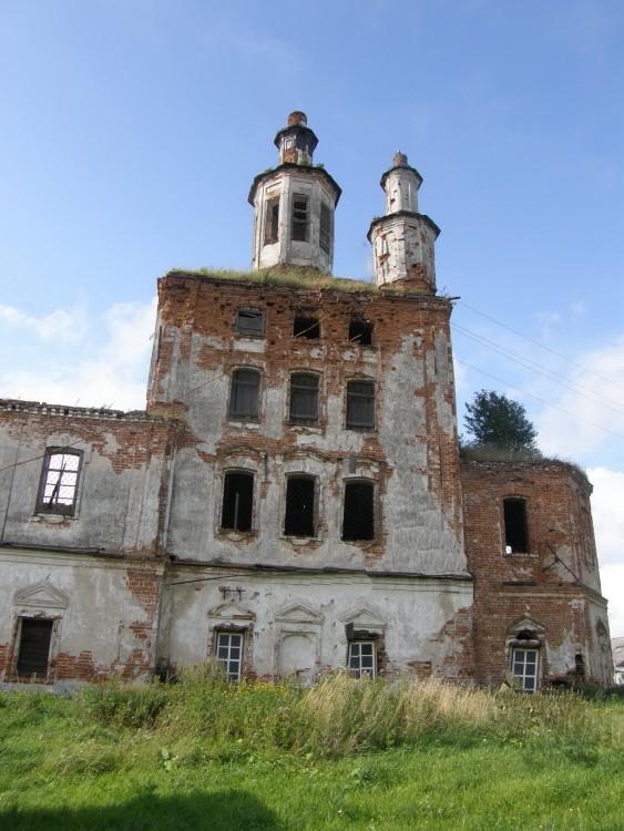 Церковь Илии Пророка, Спас-Ямщики