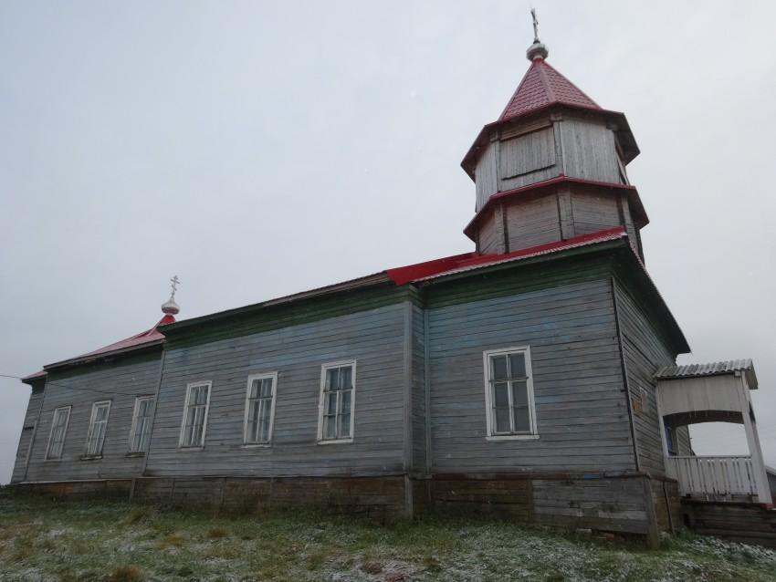 Церковь Сретения Господня (Космы и Дамиана), Курья (Погост)