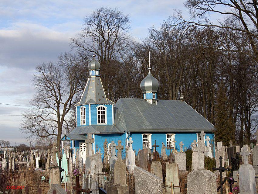 Беларусь, Брестская область, Кобринский район, Кобрин. Церковь Георгия Победоносца, фотография. фасады
