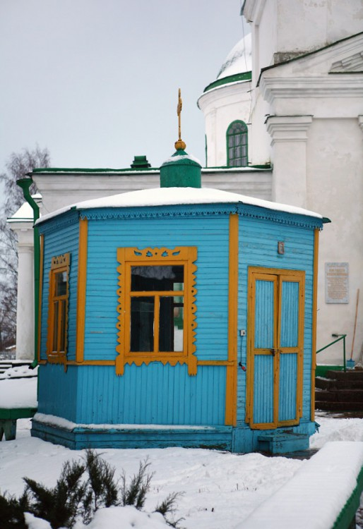 Церковь Рождества Пресвятой Богородицы, Белая