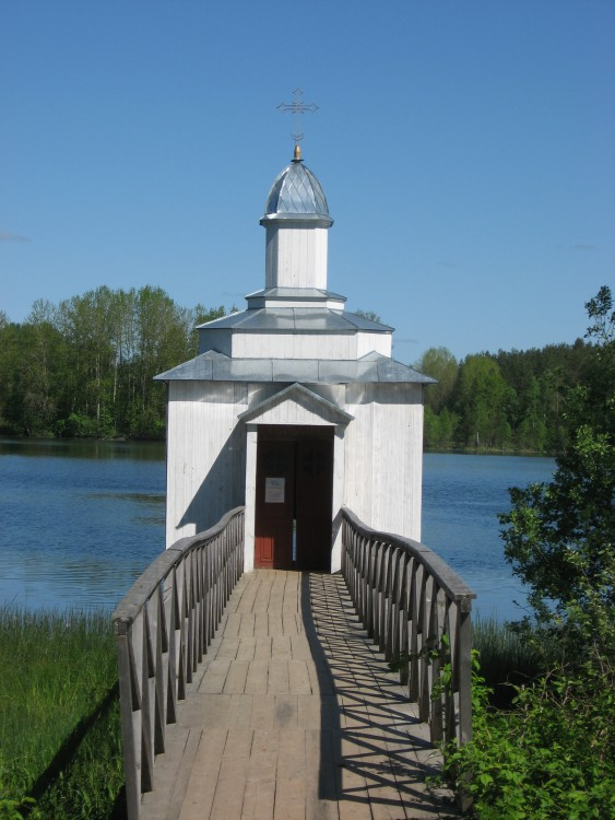 Покрово-Тервенический женский монастырь. Неизвестная часовня (купальная), Тервеничи