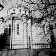 Церковь Николая Чудотворца при Рукавишниковском приюте - Арбат - Центральный административный округ (ЦАО) - г. Москва