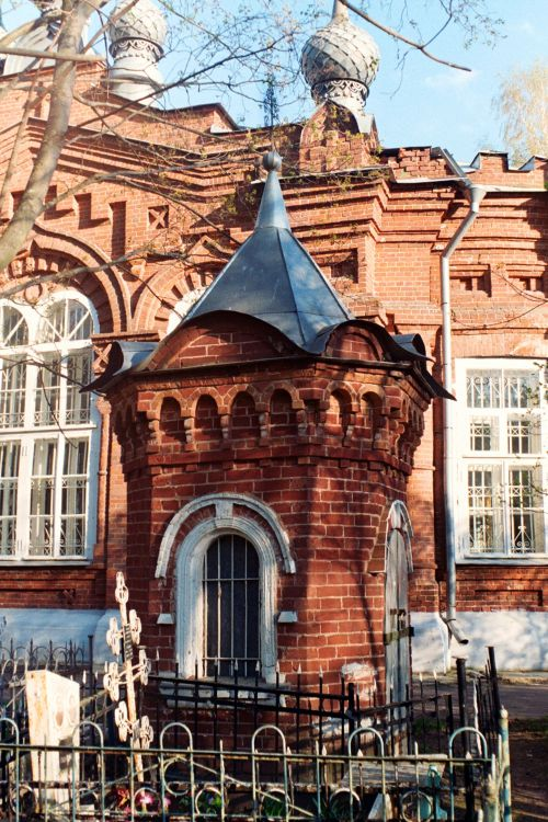 Неизвестная часовня-усыпальница, Бежецк