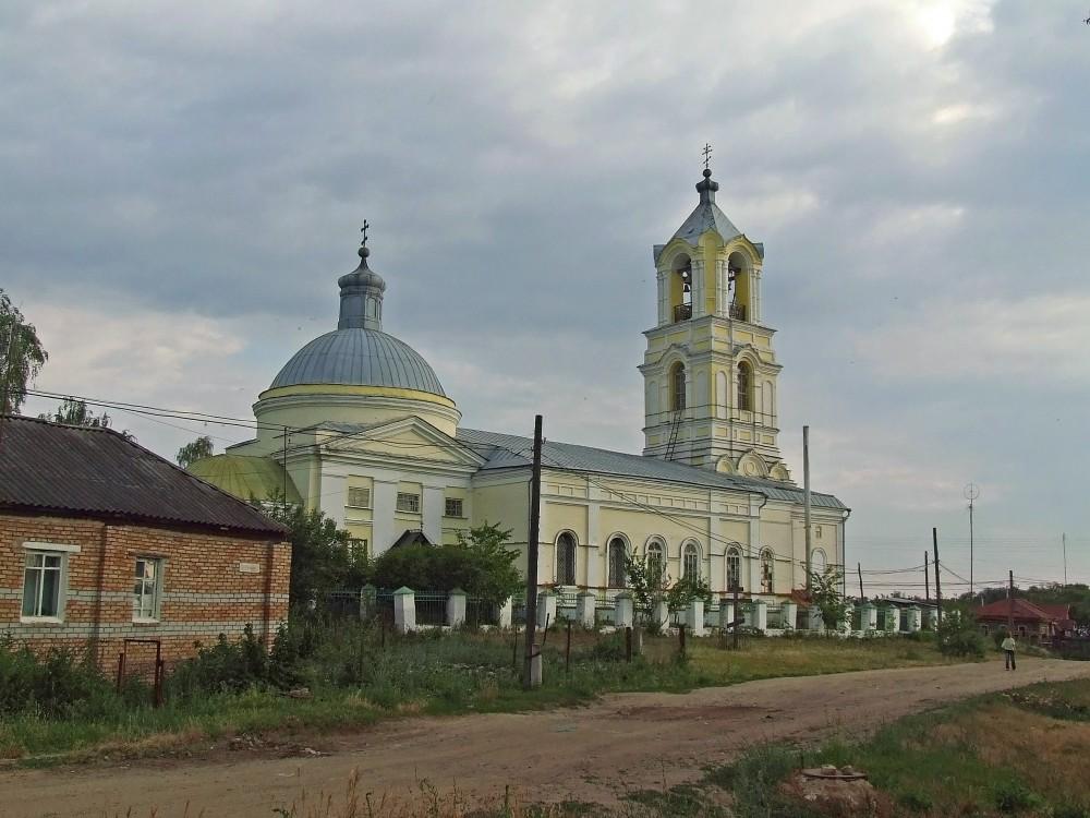 Церковь Михаила Архангела, Мокшан