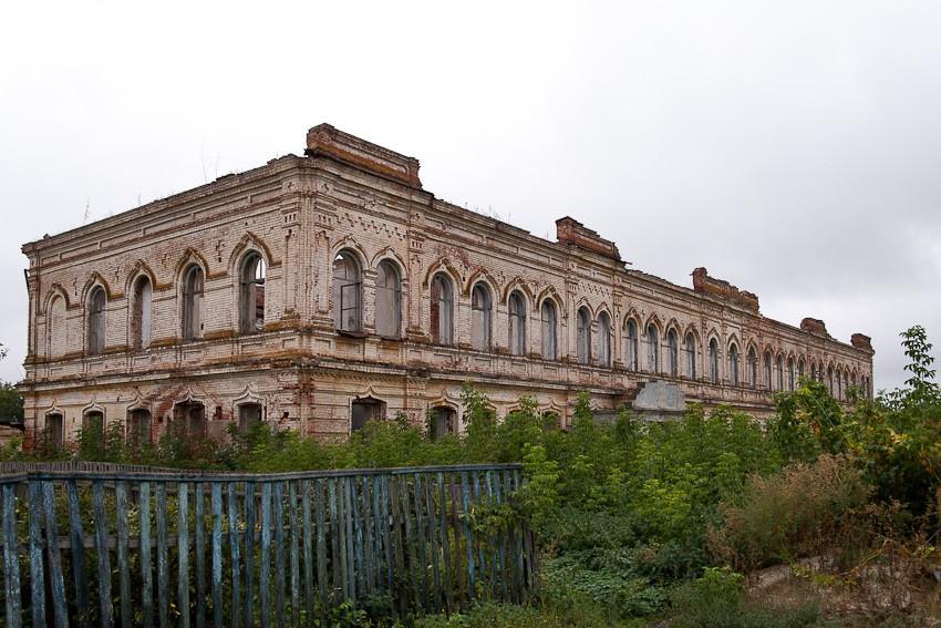 Скрябинский Вознесенский женский монастырь, Пограничное