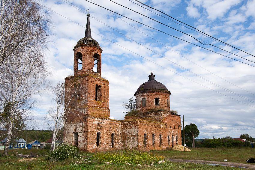 Церковь Спаса Нерукотворного Образа, Лапшово
