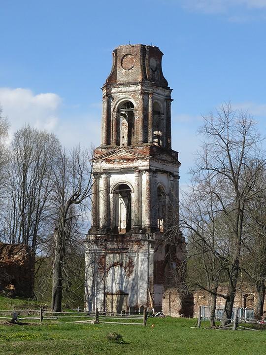 Церковь Николая Чудотворца, Спас-Ухра (Спасское на Ухре)