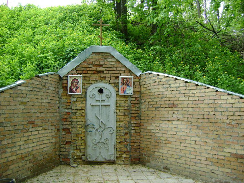 Пензенская область, Наровчатский район, Сканово. Сканов пещерный мужской монастырь, фотография. фасады