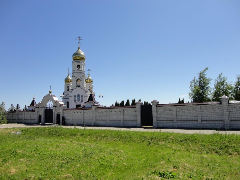 Саратовская область, Хвалынский район, Алексеевка. Иоанновский женский монастырь, фотография. фасады
