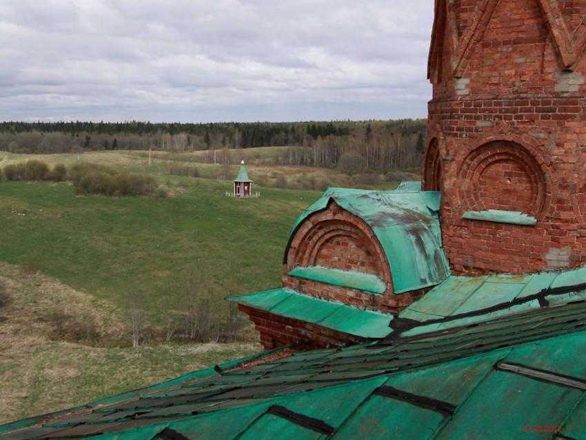 Ольгинский монастырь. Часовня Воздвижения Креста Господня, Волговерховье