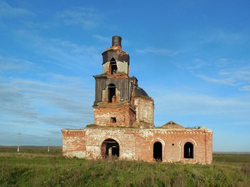 Церковь Спаса Преображения, Русская Серда, урочище