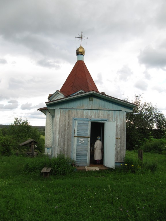 Часовня Тихвинской иконы Божией Матери, Клоповская (Мишина)
