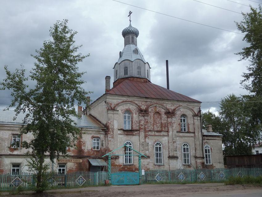 Троицкий Шенкурский женский монастырь. Церковь Зосимы и Савватия Соловецких, Шенкурск