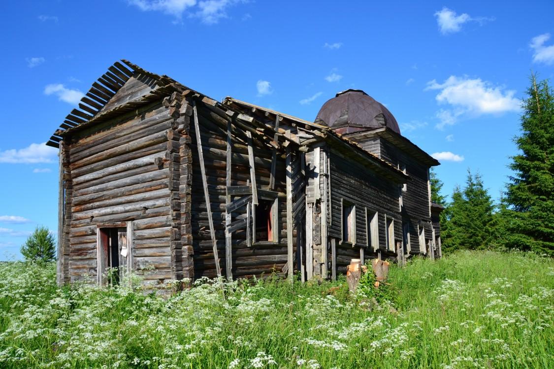 Церковь Николая Чудотворца, Коргозеро