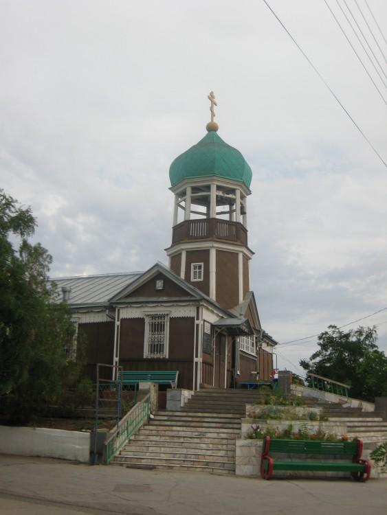 Астраханская область, Астрахань, город, Астрахань. Церковь Иоанна Предтечи на старом кладбище, фотография. фасады