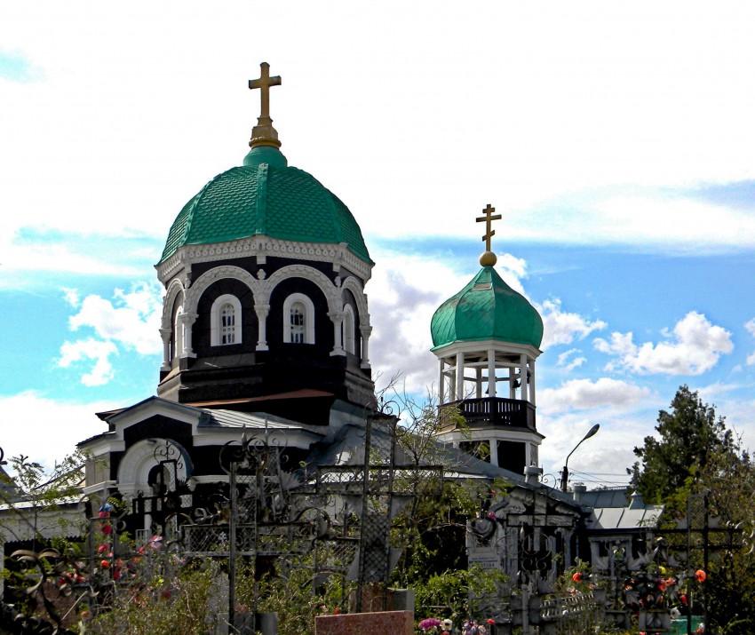Астраханская область, Астрахань, город, Астрахань. Церковь Иоанна Предтечи на старом кладбище, фотография. архитектурные детали