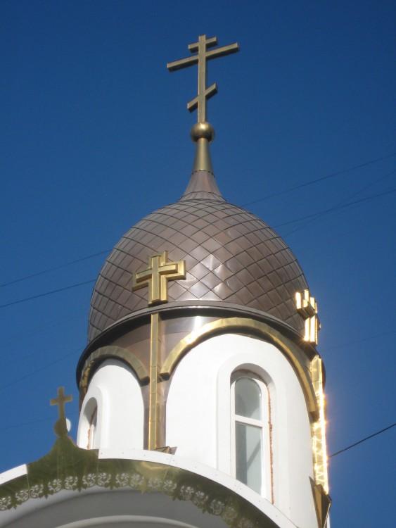 Астраханская область, Астрахань, город, Астрахань. Церковь Александра Невского, фотография. архитектурные детали