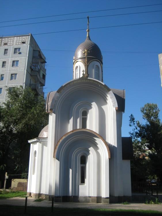 Астраханская область, Астрахань, город, Астрахань. Церковь Александра Невского, фотография. общий вид в ландшафте