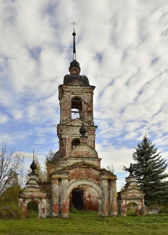 Костромская область, Нерехтский район, Ивановское. Церковь иконы Божией Матери