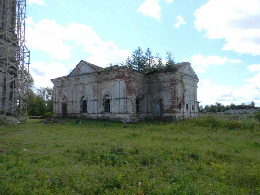 Ивановская область, Гаврилово-Посадский район, Бородино. Церковь иконы Божией Матери