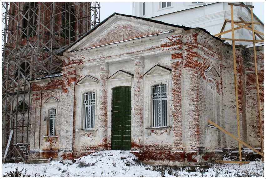 Ивановская область, Гаврилово-Посадский район, Бородино. Церковь Михаила Архангела, фотография. фасады